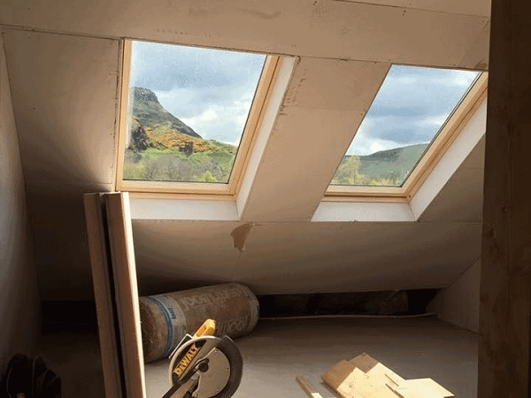 loft conversion windows edinburgh
