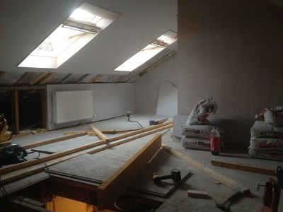 two velux attic conversion