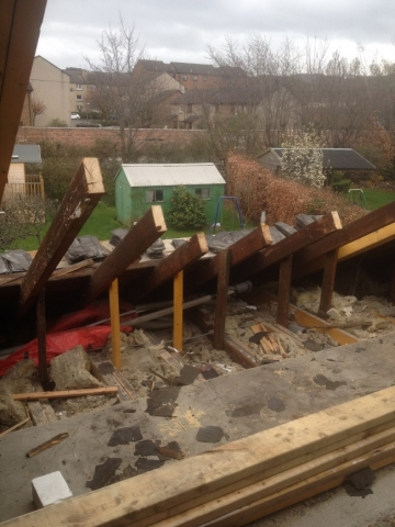old roof removal loft conversion edinburgh