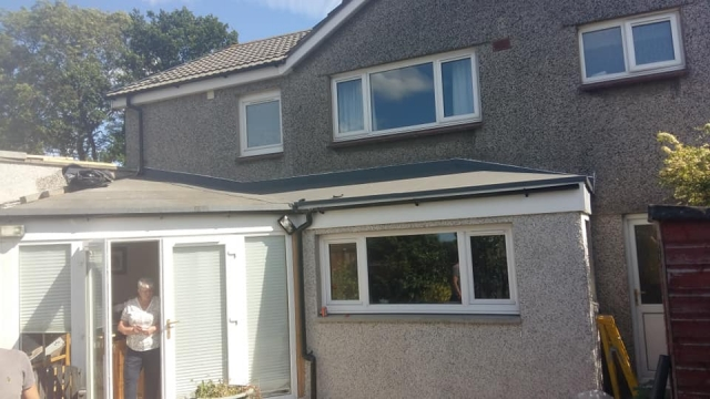 exterior house extension in edinburgh