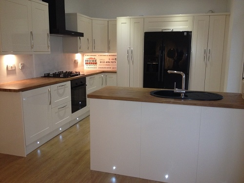 Kitchen fitted by Home Trades Services