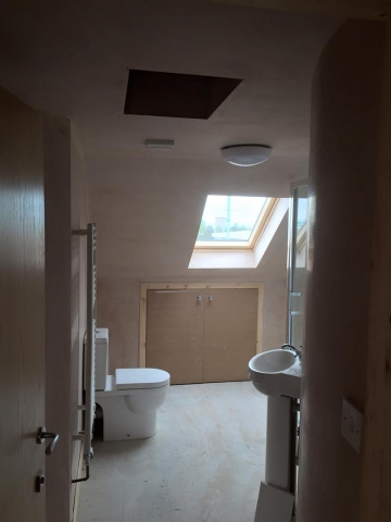 bathroom loft conversion edinburgh
