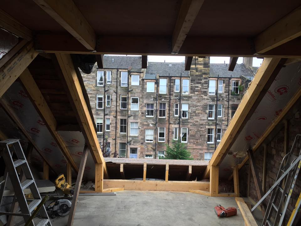 velux loft conversion edinburgh