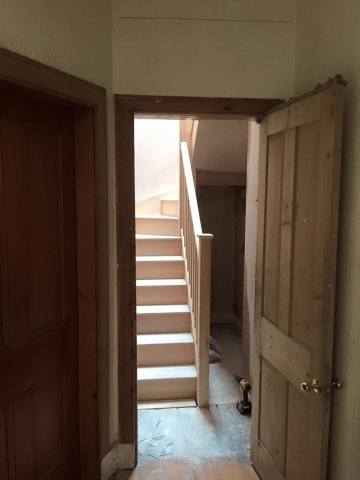 custom staircase by joiners in edinburgh