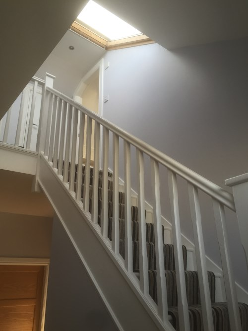 loft conversion and stairway