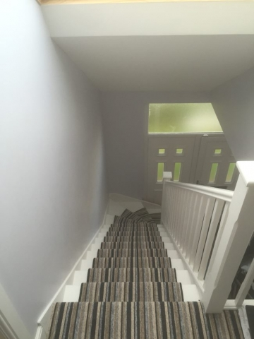 stairway in dormer loft conversion edinburgh